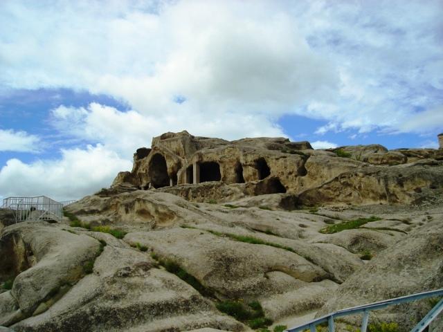 Uplistsikhe huleby ruinerne i Georgien