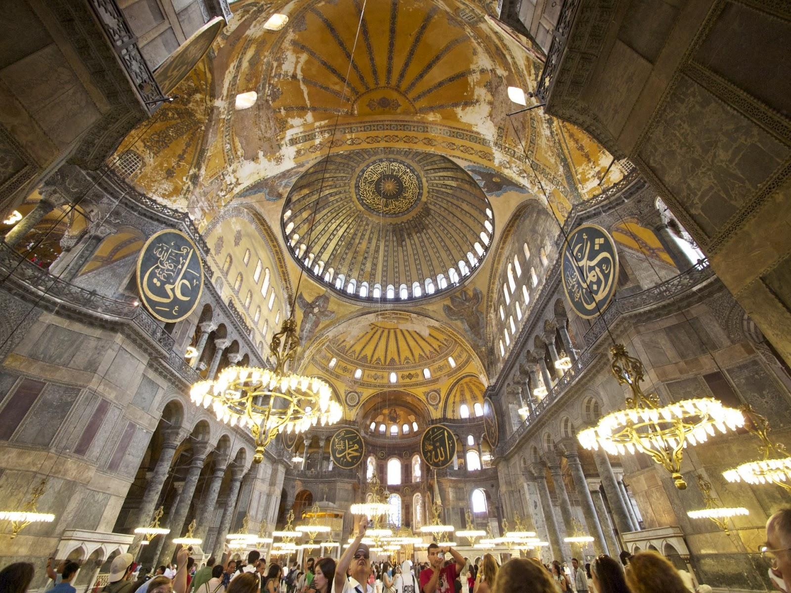 Hagia.Sophia i Istanbul