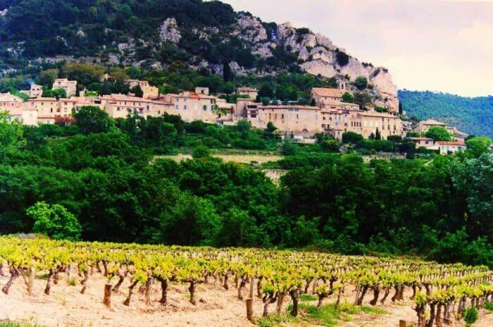 Franske vindistrikter: Cotes du Rhone, Village-Seguret vingårde