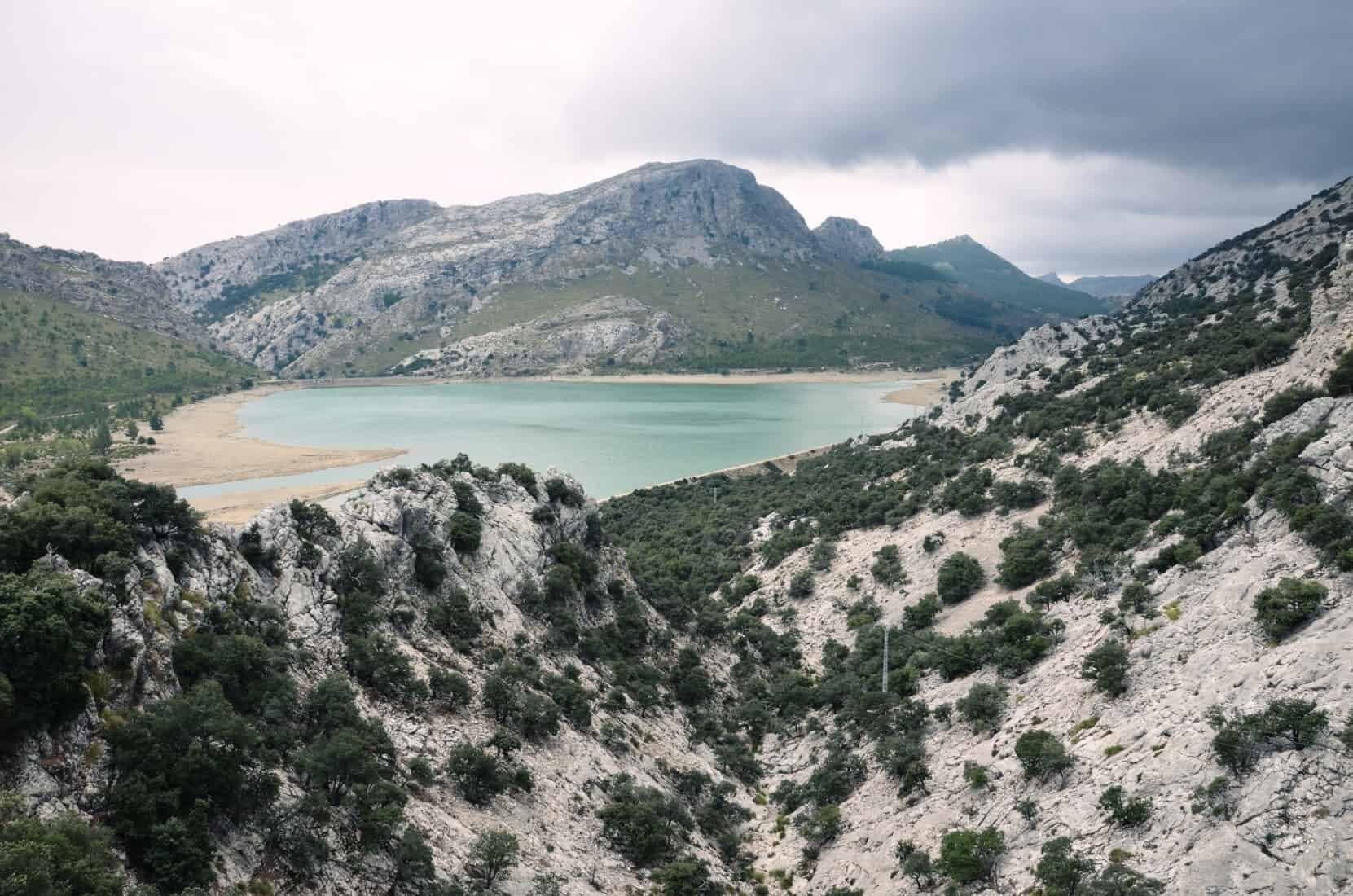 Cuber søen i Serra de Tramuntana