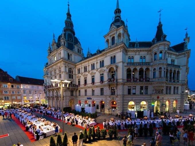 Graz - nydelsens by