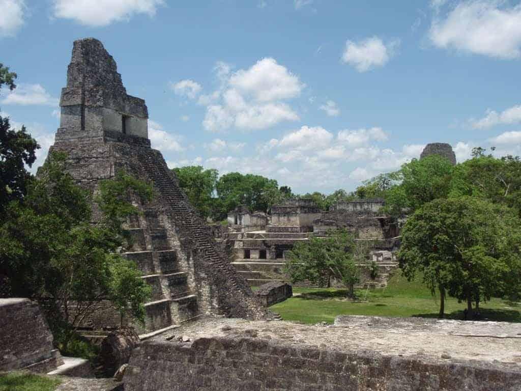 Guatemala, El Tikal ruinerne