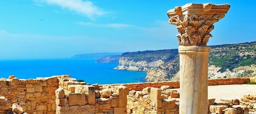 Asiens mindste lande. Kourion-Cyprus