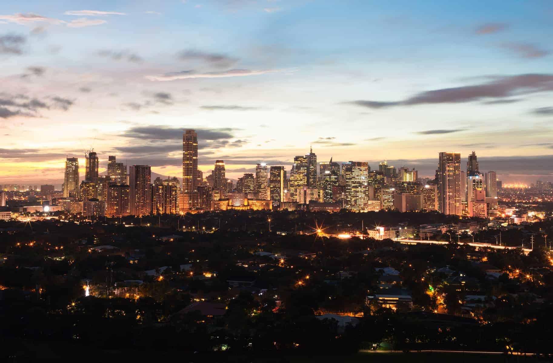 Manila nattefoto