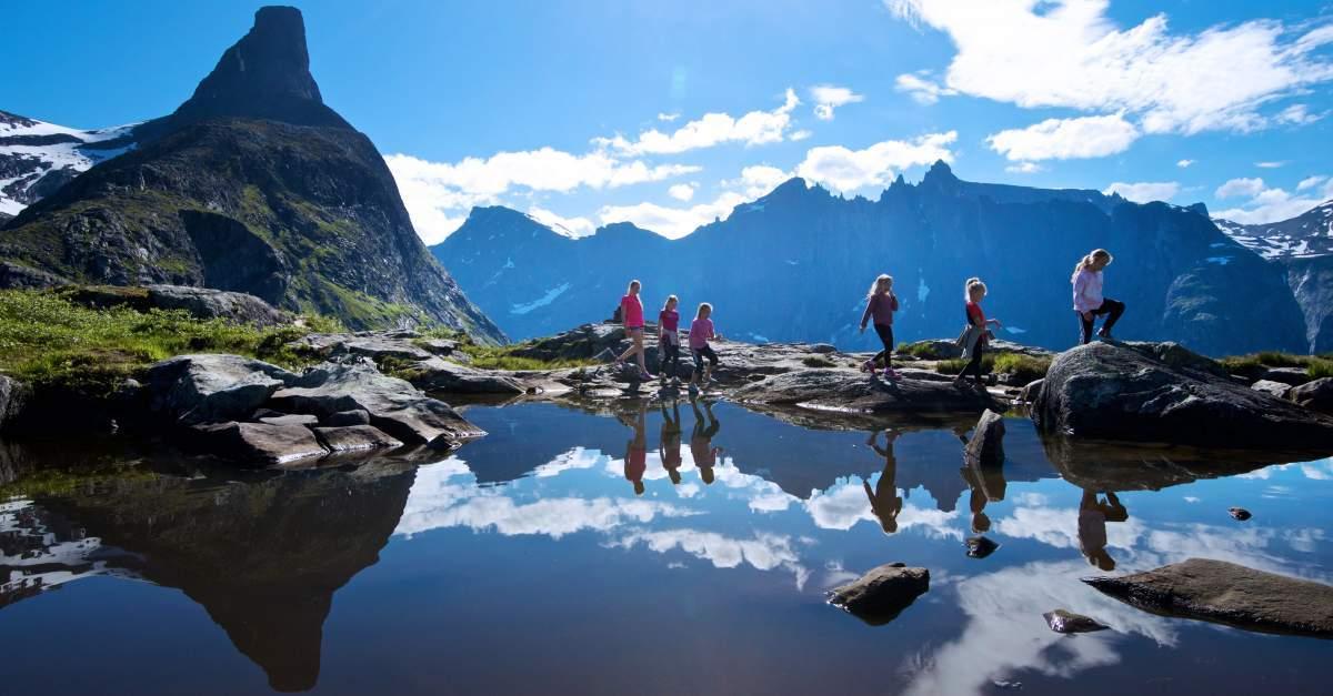 Norske bjergvandringer