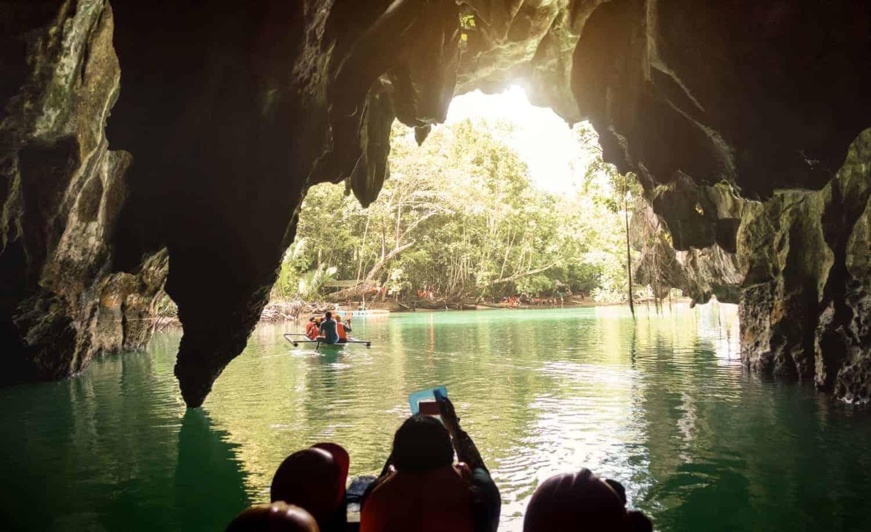 Puerto Princesa, Palawan underjordisk flod og grotte