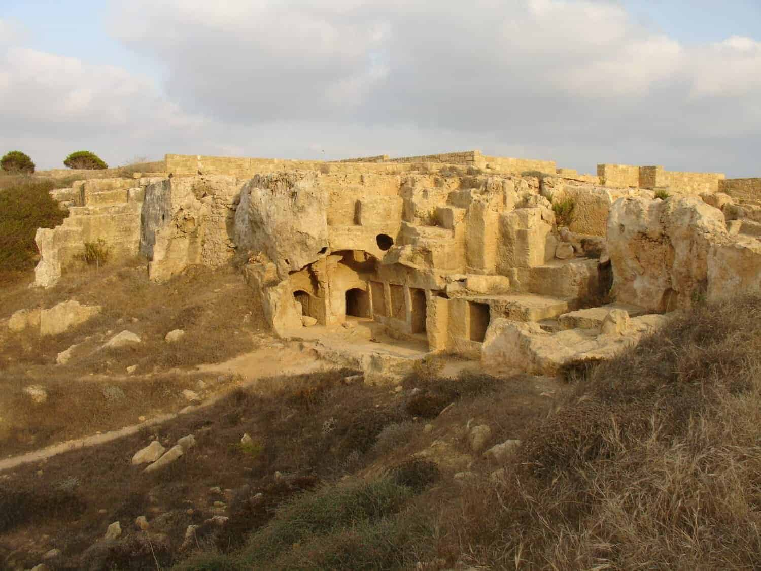 Tombs of the Kings Cypern