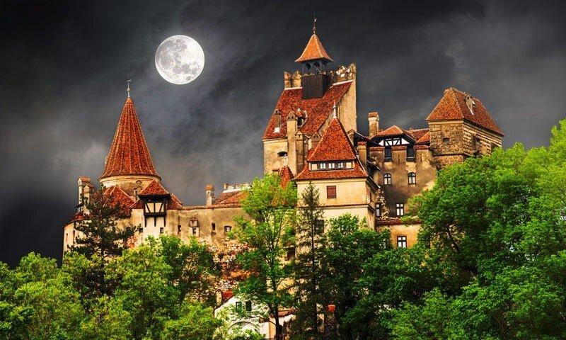 Transylvanien-Drakula-slott