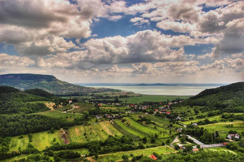 Ungarn, det smukke landskab