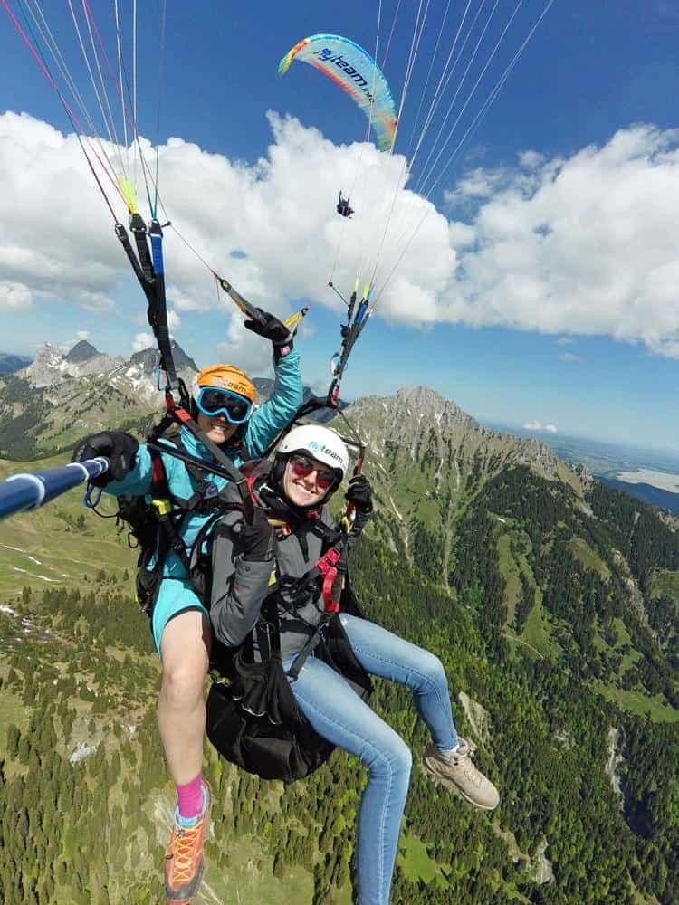 Zugspitz-tandem-paragliding-gleitschirmfliegen