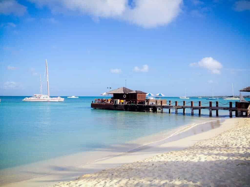 Aruba i Caribien, sejlerferie