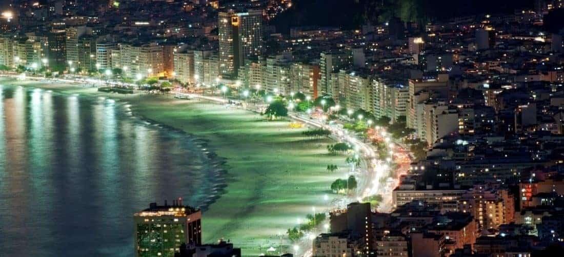 Brasilien, Riode Janeiro beach front