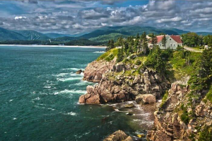 Canada, På yoga ophold i Nova Scotia i det østlige uberørte Canada
