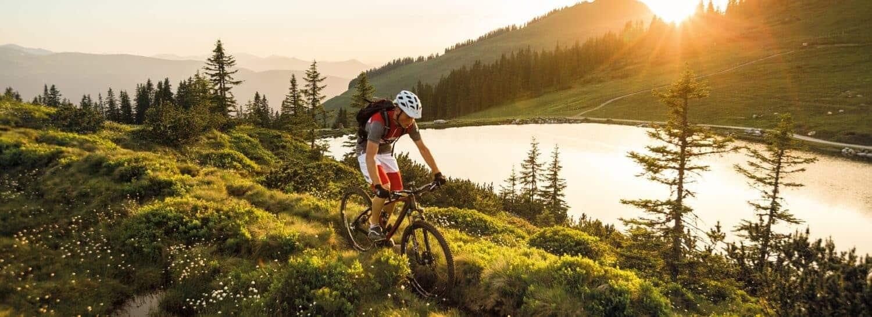 Nye overkommelige mountainbiking ruter i Kitzbüheler Alperne