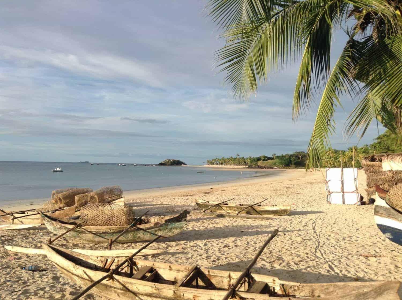 Madagascar strand ved Nosy Be