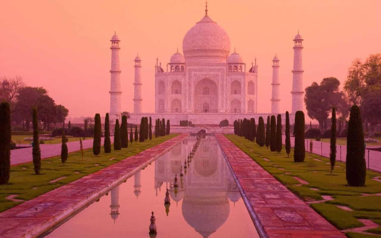 Taj Mahal, Indiens største bidrag til Indiens syv vidundere