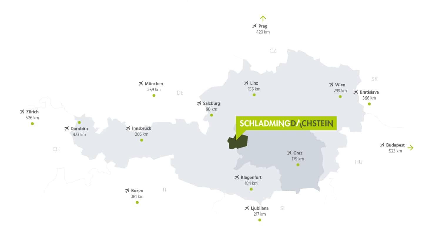Schladming-Dachstein kort