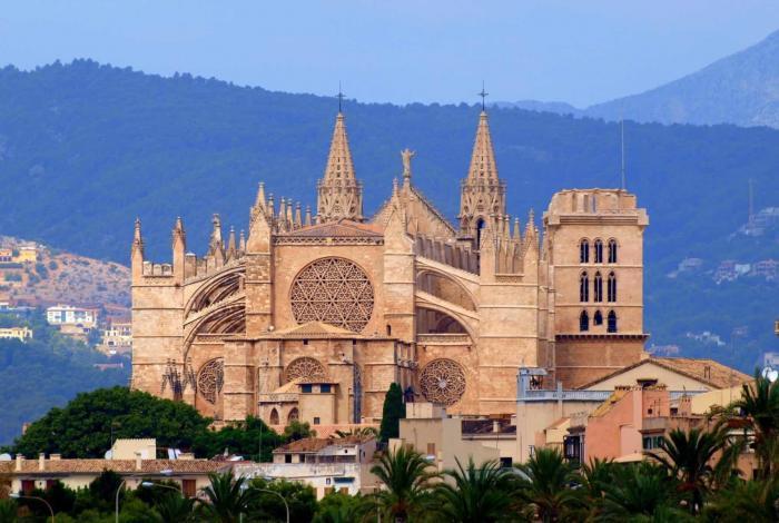 Palma di Mallorca La Seu Katedralen Palma di Mallorca La Seu Katedralen