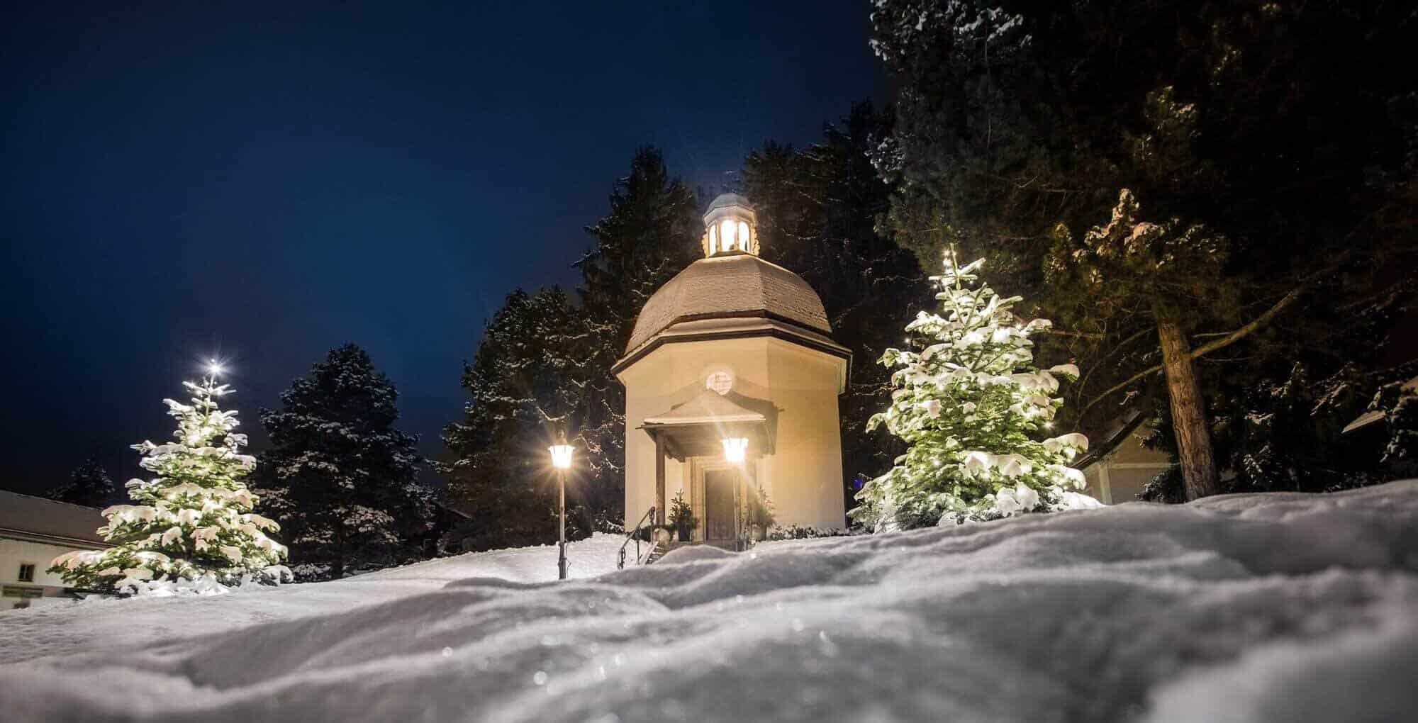 Stille-nacht-kapelle-oberndorf in Salzburgerland