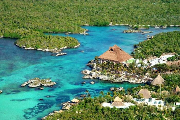 Xel-Ha Park (Parque Xel-Há) is a commercial aquatic theme park and ecotourism development located on the Caribbean coast of the state of Quintana Roo, Mexico, in the municipality of Solidaridad.