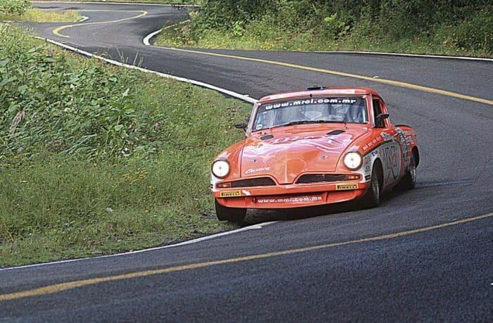 Studebakers vandt løbet flere gange, stor bil men stadig super sportslig