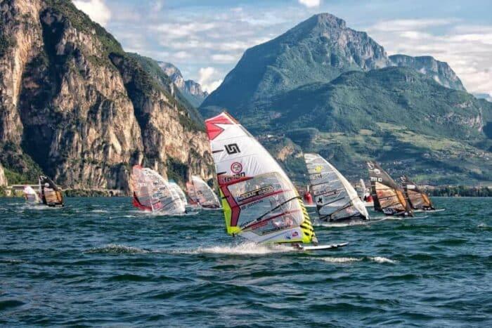 windsurfing Gardasøen