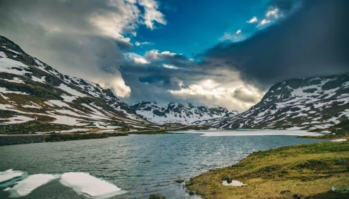 Haukeli-fjellet vestlandet Norge
