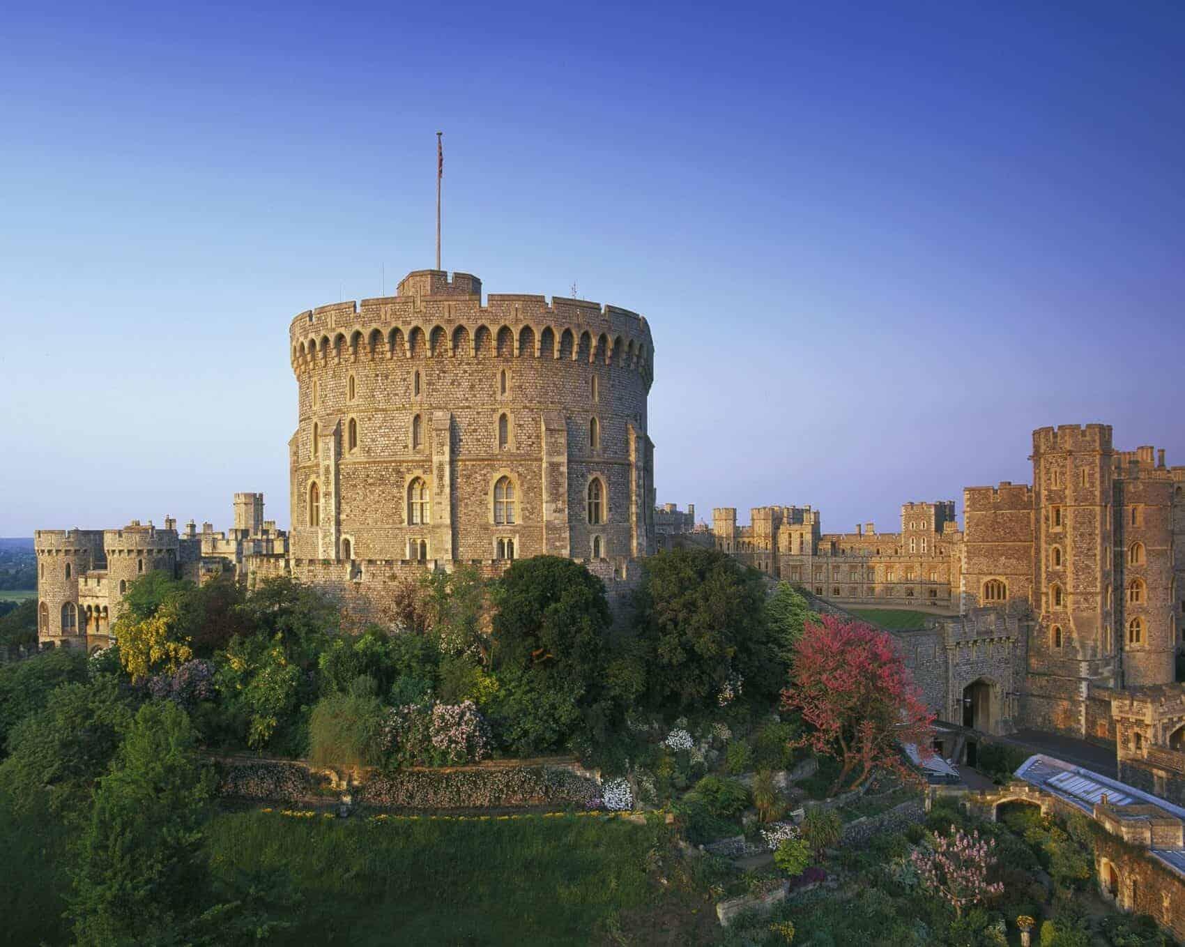 London, Windsor Castle dronning Elizabeth d. 2's weekendhjem 2