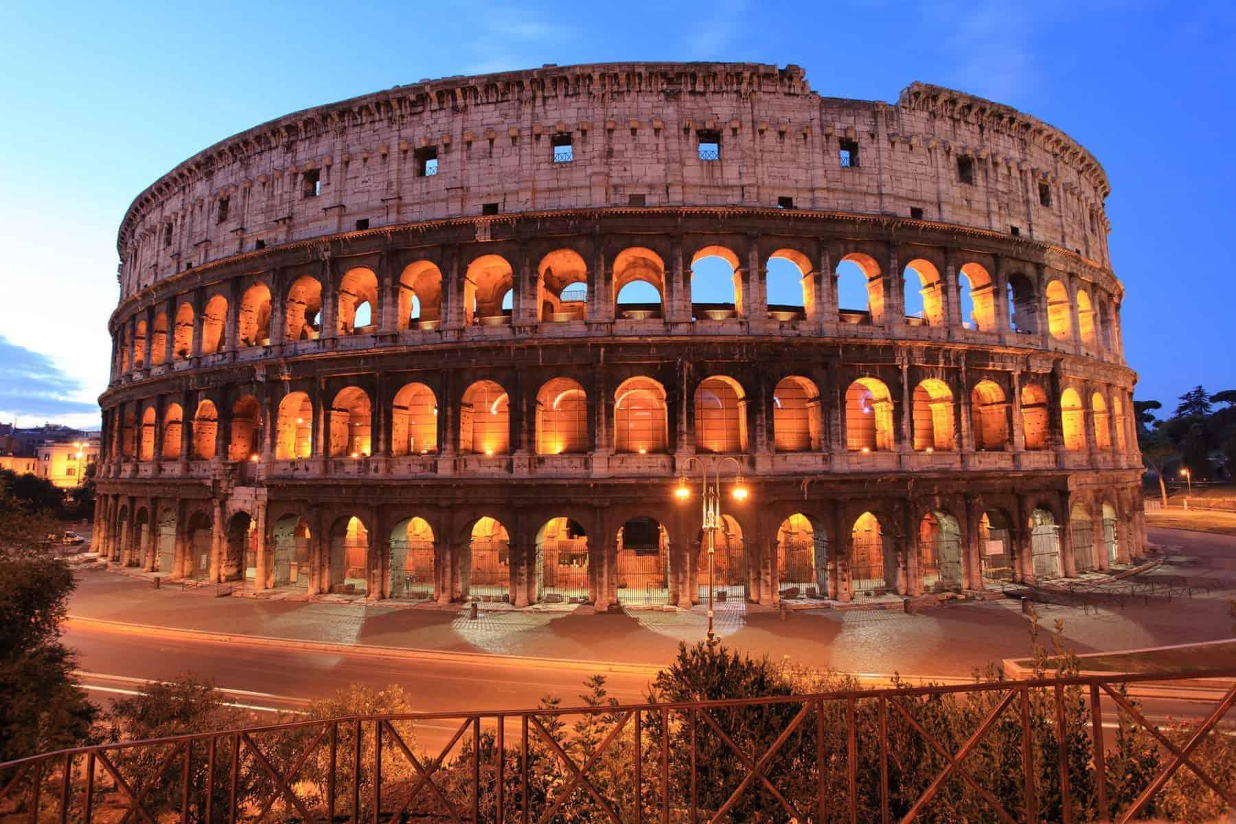 Colosseum, Europas berømte bud på verdens syv vidundere