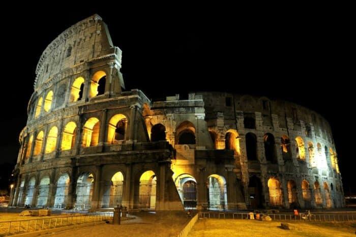 Colosseum, Rom, Italien nat