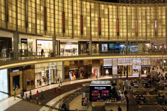 Dubai indkøbscenter, verdens største