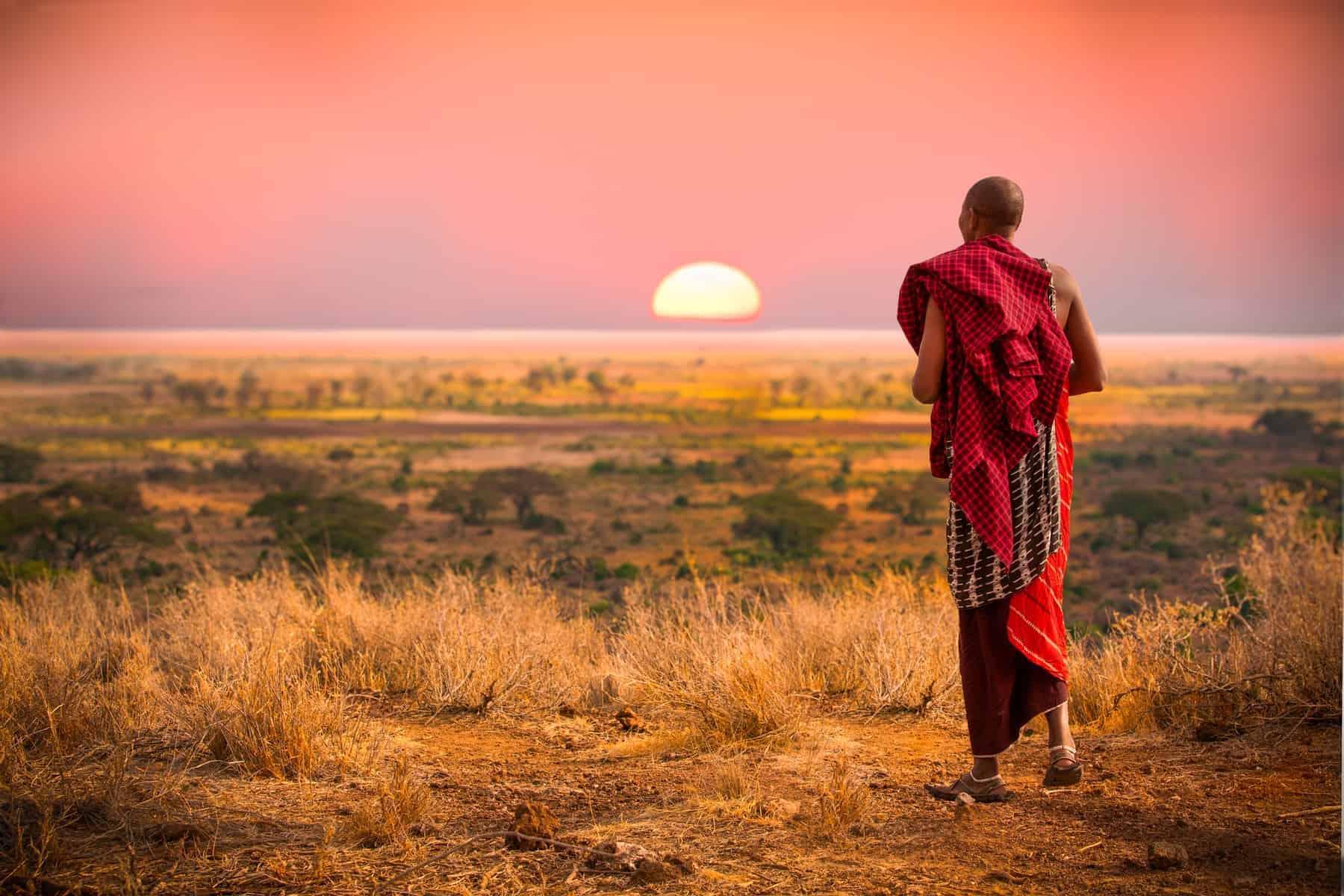Masai man of Tanzania
