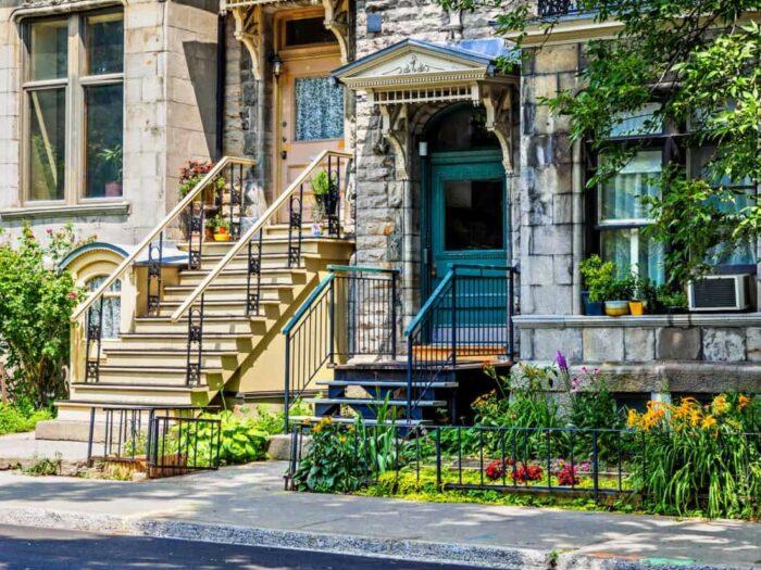 Montreal. Typisk, klassisk kvarter
