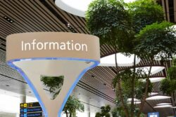 Singapore Changi international airport, one of the most comfortable and convenient airports