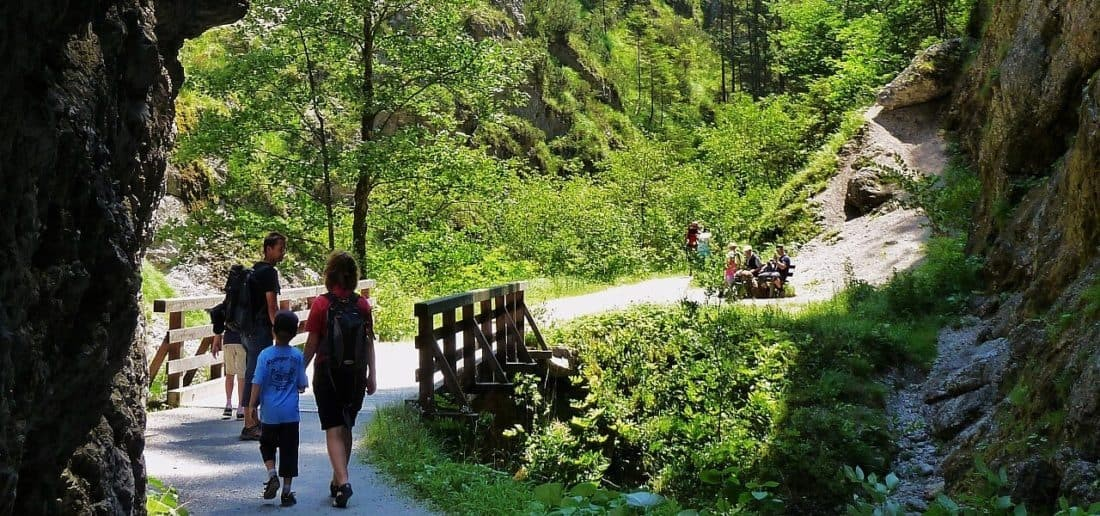 Natur pur in der Kundler Klamm Wildschönau. FG W. Kiesbauer. Wildschönau....jpg.3535481