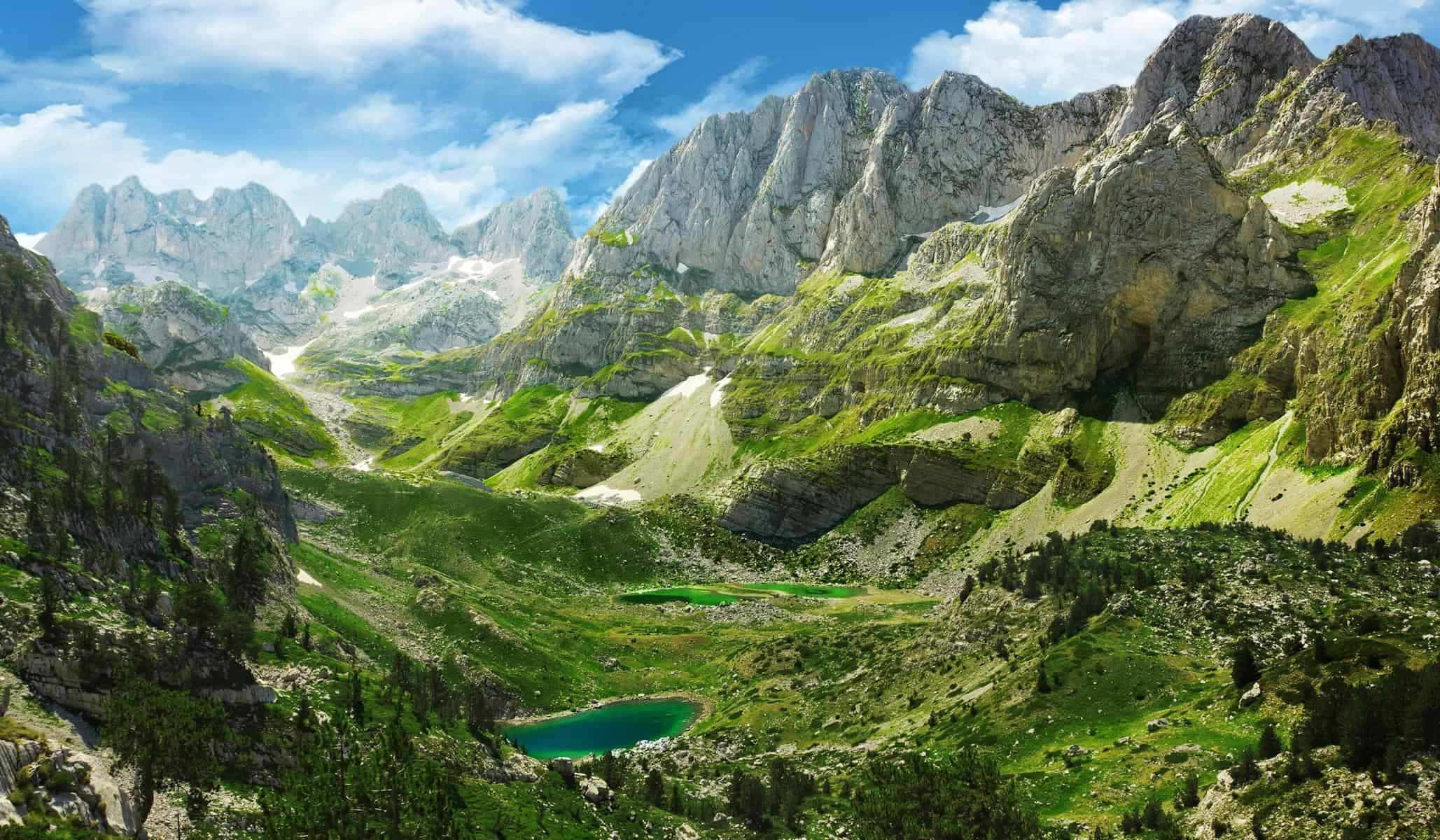 Albanien bjerge