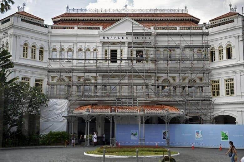 Raffles Singapore restoration
