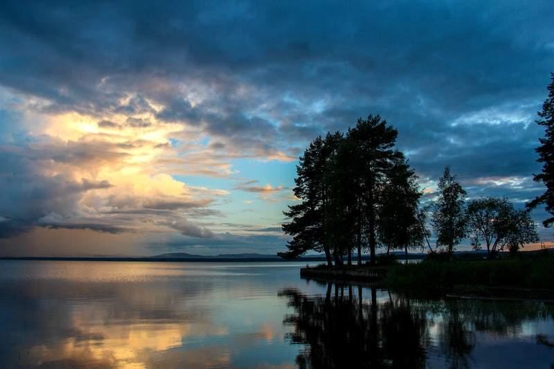 Camping i Sverige. Camping i Dalarna Sverige