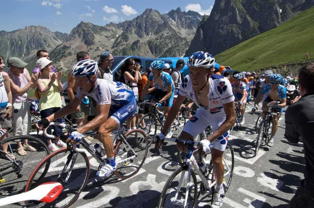 Col du Tourmalet Pyrenæerne, Tour de France 2009