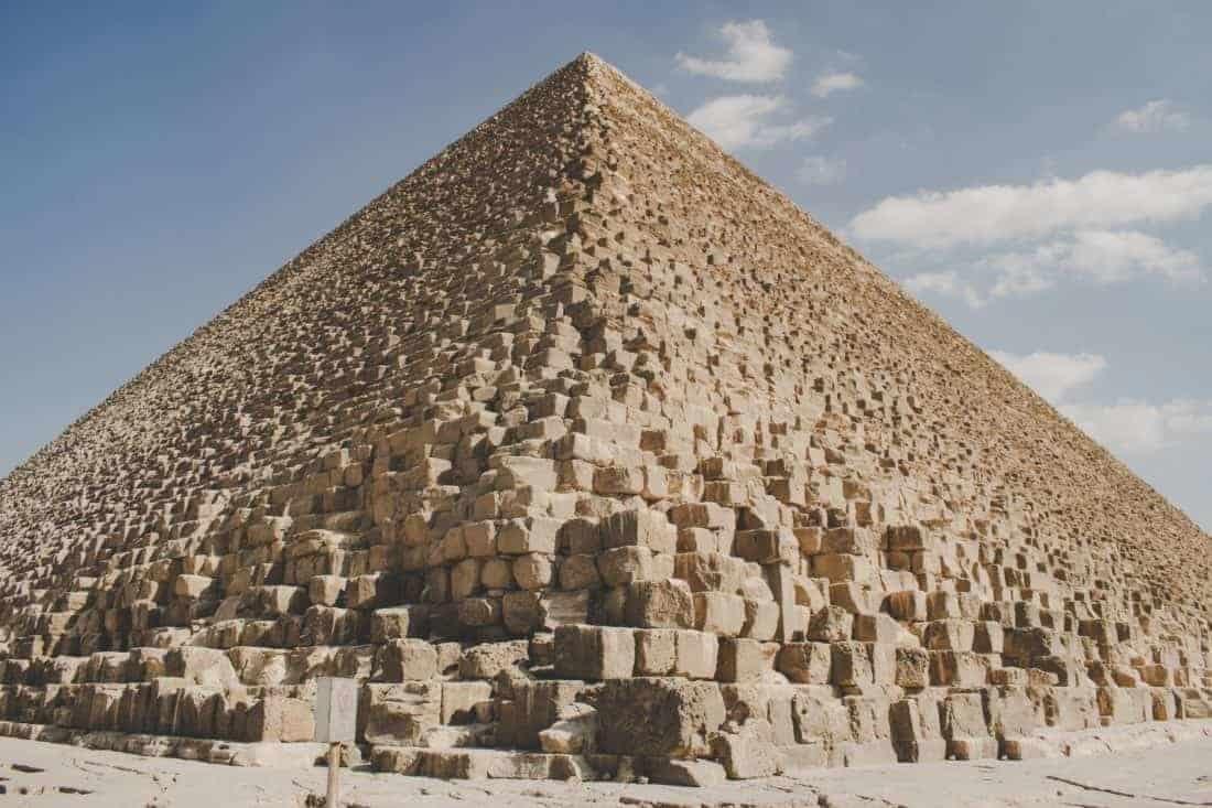 Egypten pyramide