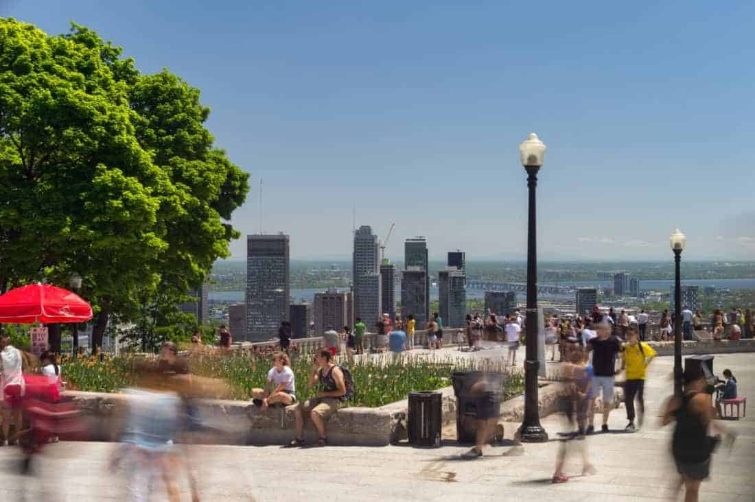 Montreal, seen from Mont Real