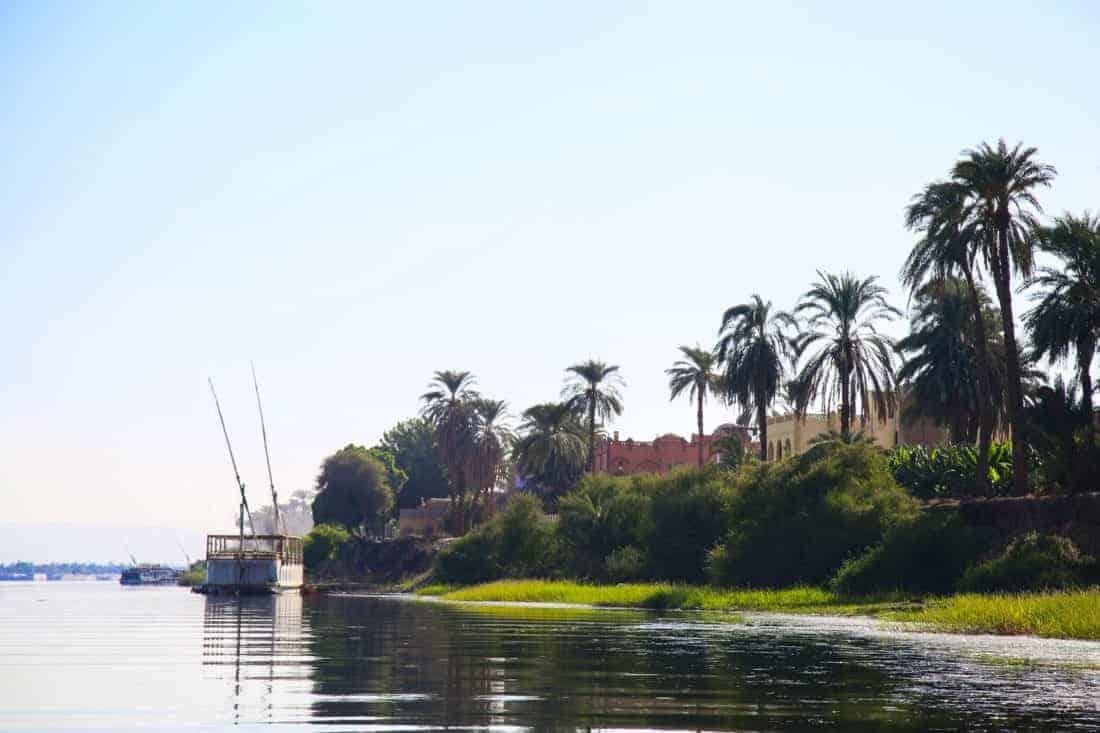 Nilen på krydstogt langs floden