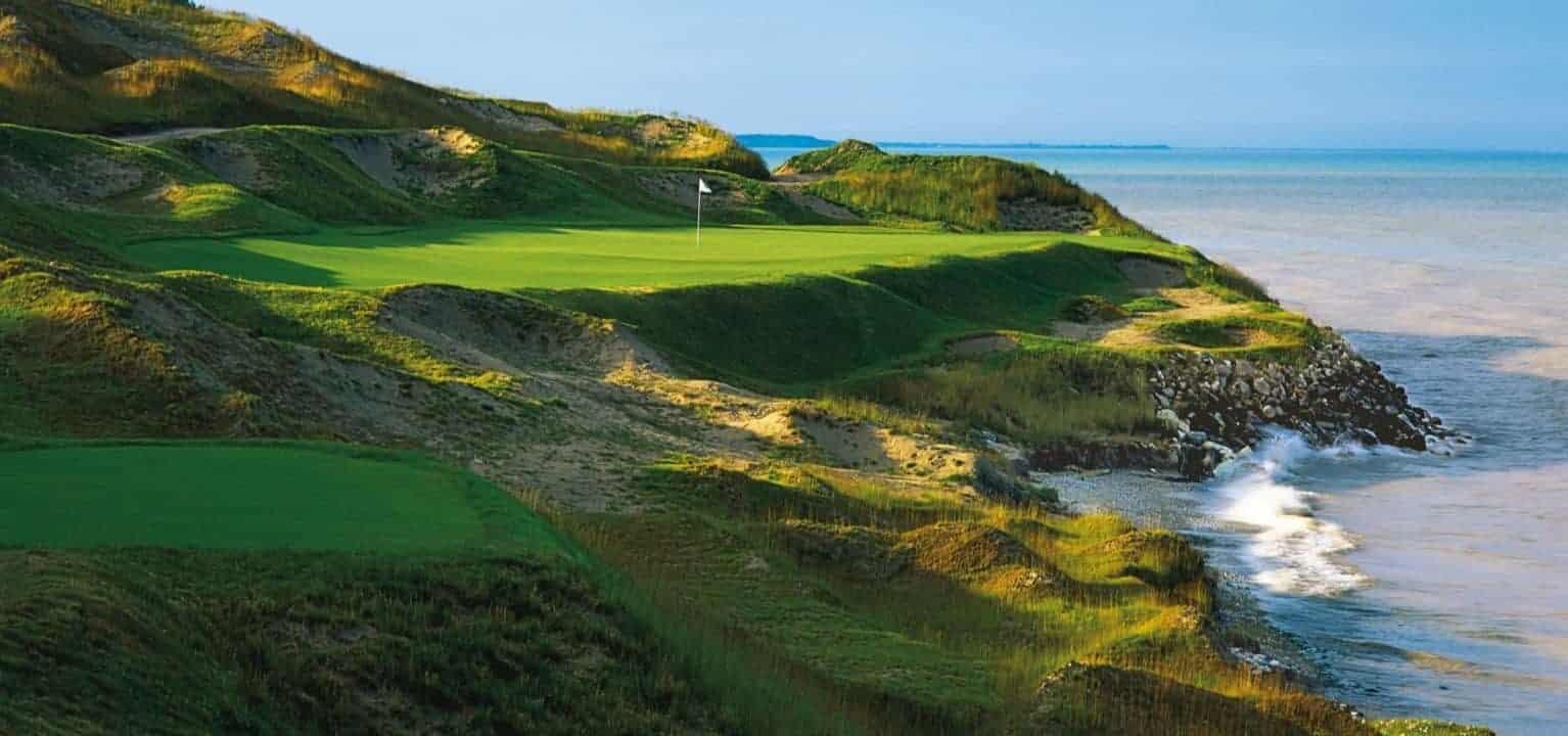 Whistling Straits golf club