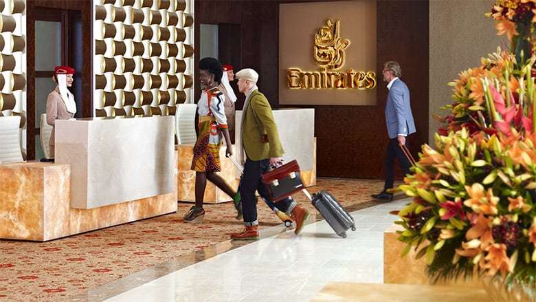 emirates lounges