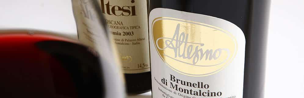 Altesino, dyre dråber, Brunello di Montalcino