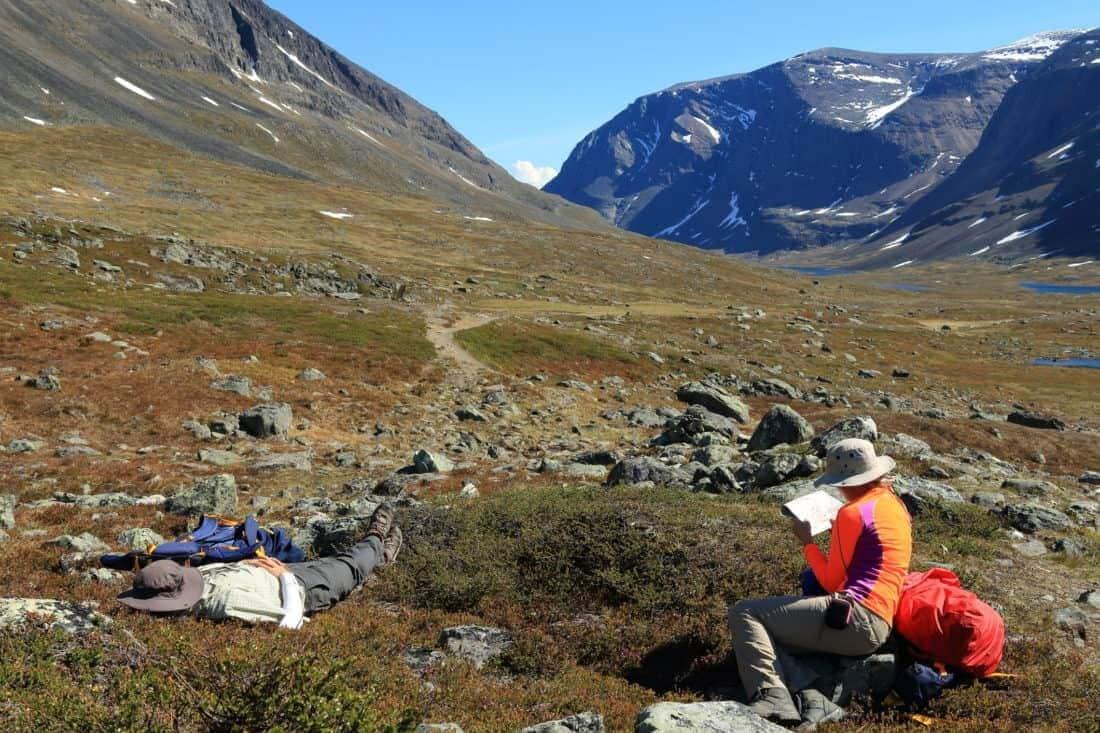 Camping Sweden Kungsleden Lapland