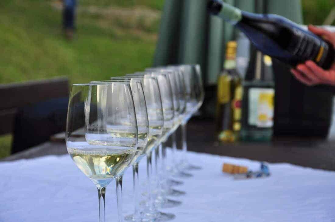Colli Orientali del Friuli, Italy. Wine tasting glass