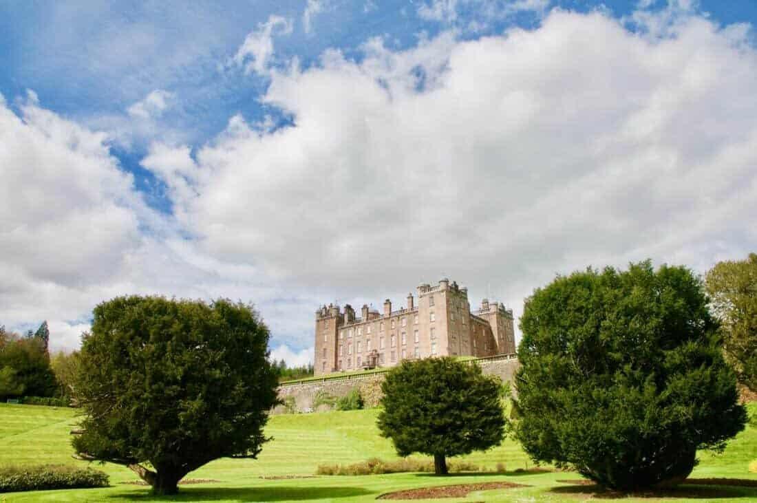 Drumlanrig castle and gardens Drumfries and Galloway Scotland united kingdom