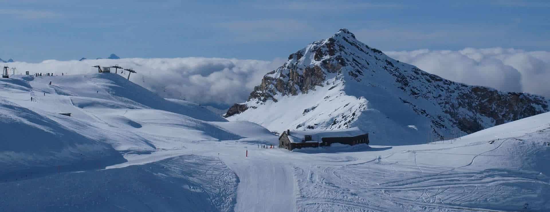 Cervinia, Bollettino- og rigeligt med sne