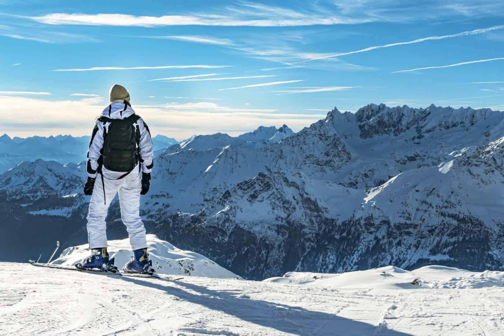 Cervinia Italy. Alpine, matterhorn